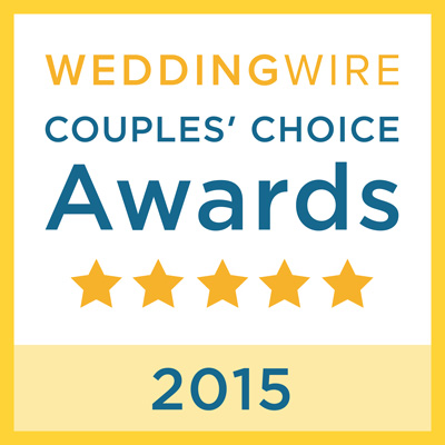 WeddingWire <br>Couples' Choice<br>Awards 2015 title=WeddingWire <br>Couples' Choice<br>Awards 2015